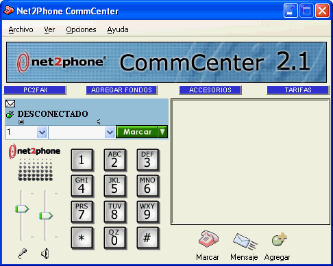 Net2Phone CommCenter