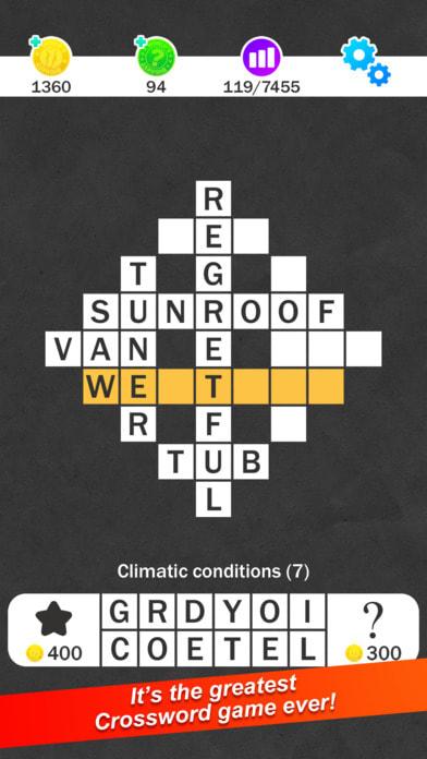 Crossword : World's Biggest Crosswords Game