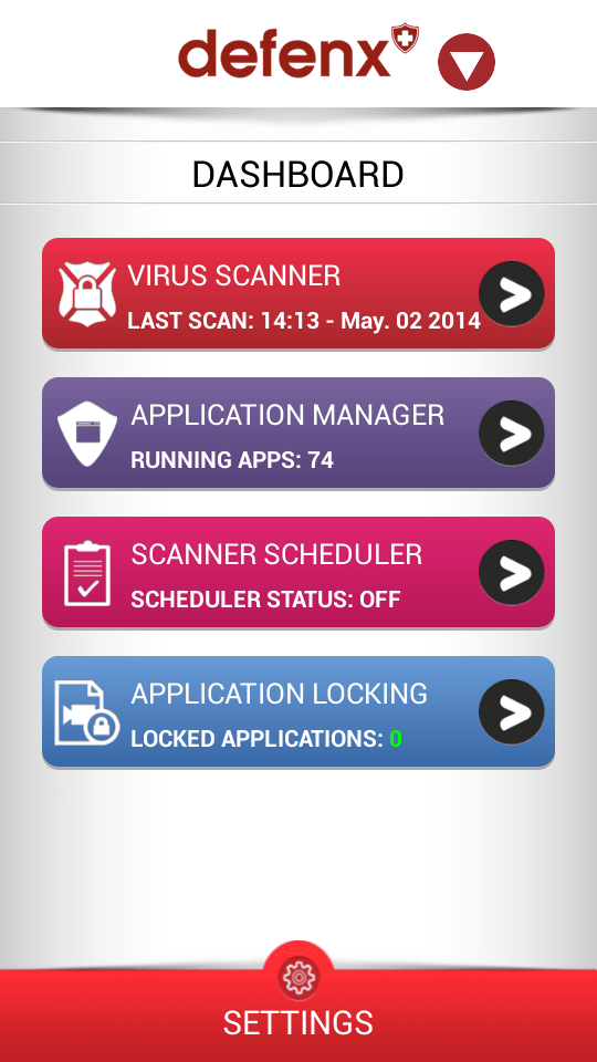 Defenx Mobile Security Suite