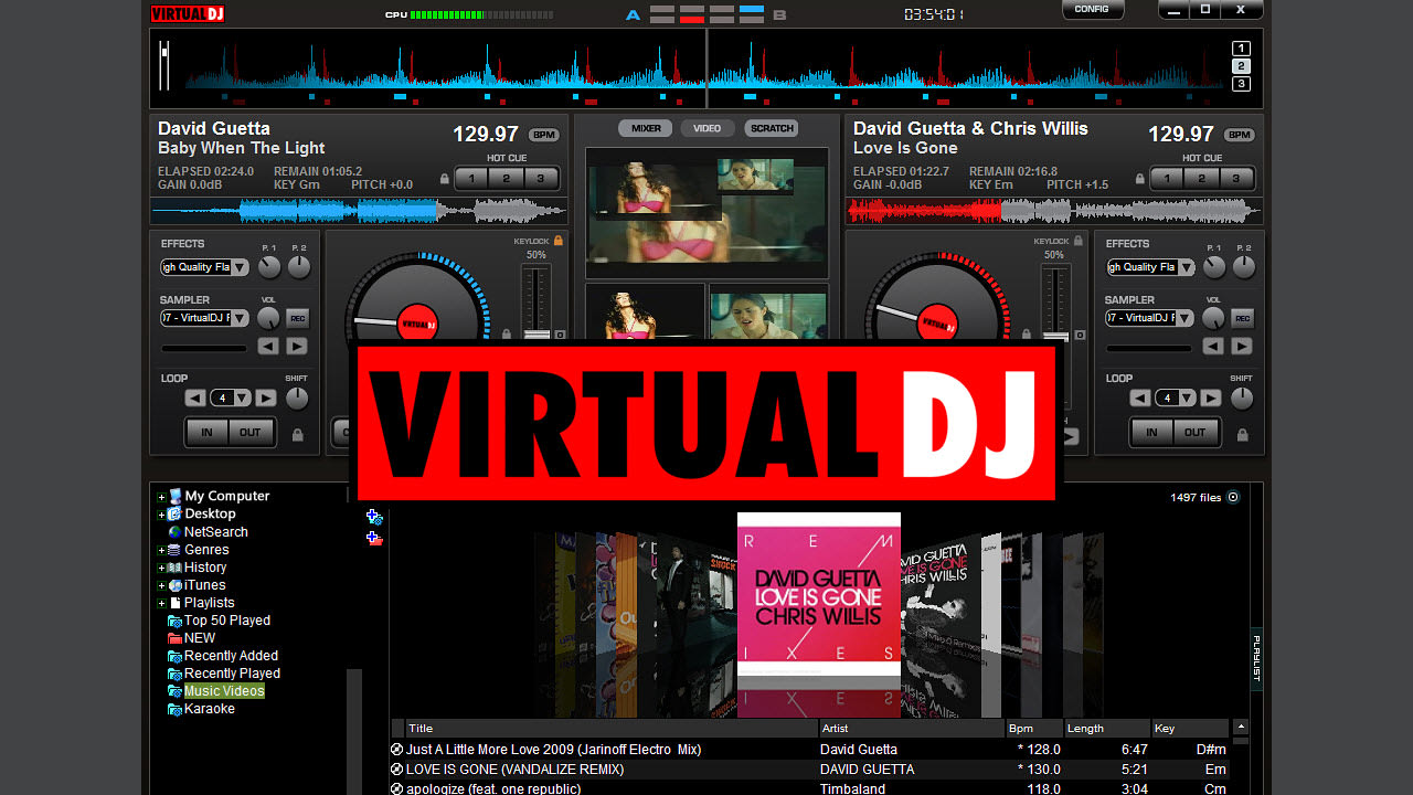 table de mixage virtual dj 7