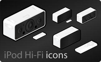 iPod Hi-Fi icons