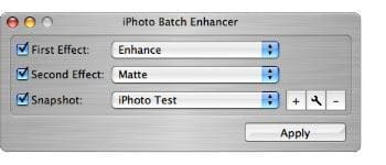 iPhoto Batch Enhancer