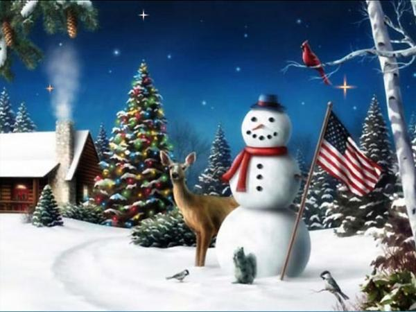 American Snowman ScreenSaver