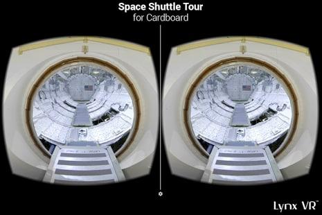Space Shuttle Tour Cardboard