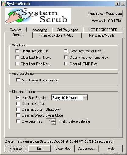 SystemScrub for Macintosh