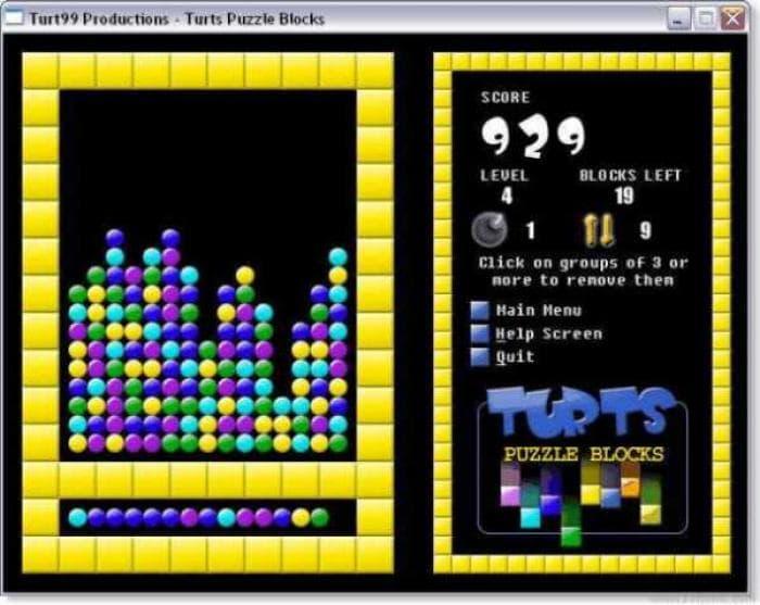 Turt's Puzzle Blocks