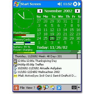 Start Screen 2003