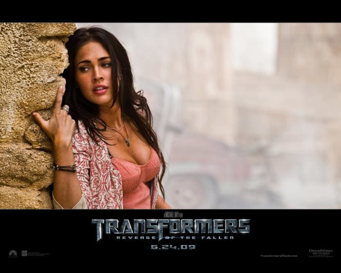 Transformers - Megan Fox Papel de Parede
