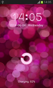 Pink Glow GO Locker