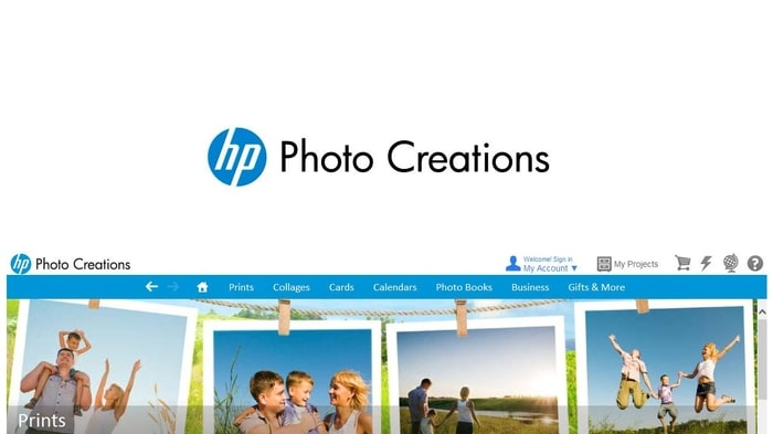 HP Photo Creations