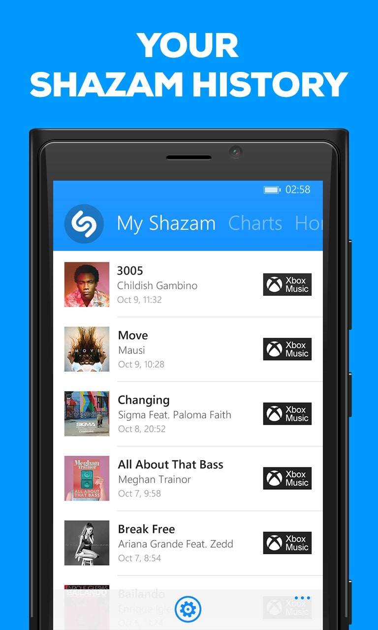 how to download shazam songs