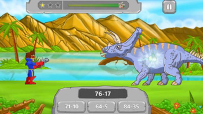Math vs Dinosaurs Kids Games