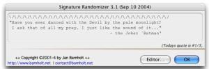 Signature Randomizer