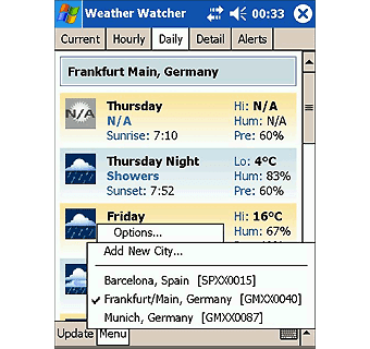 Weather Watcher Mobile