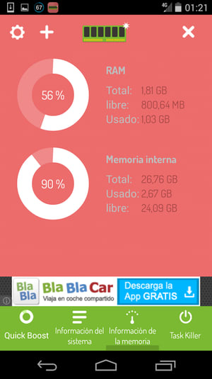 Optimizador Memoria HD