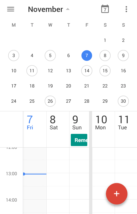 how to get google calendar on android