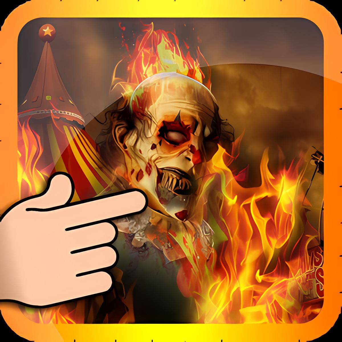 Ghost Rider payaso de Fuego 6