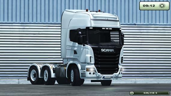 Scania R730 LG0012 White