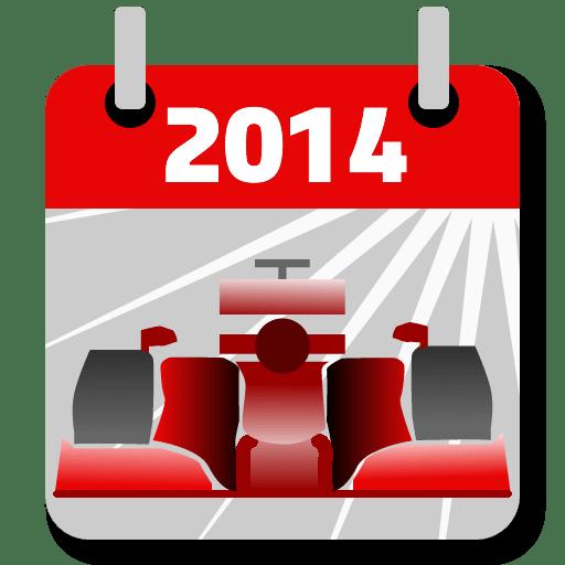 F1™ Calendar 2014