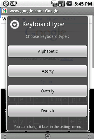 Slide Keyboard