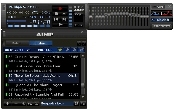 AIMP 200 Skins Pack