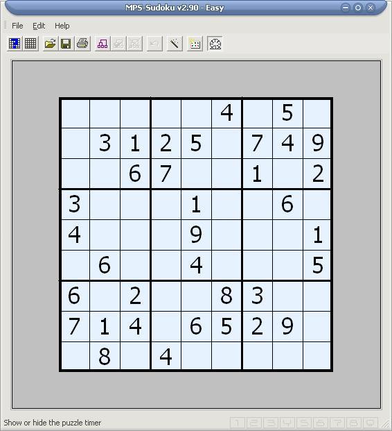 MPS-Sudoku