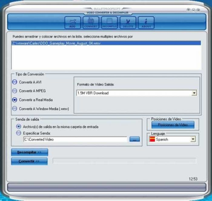 BPS Video Converter&Decompiler
