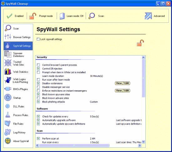 SpyWall Anti-Spyware