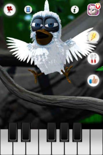Larry l'oiseau qui parle Gratuit