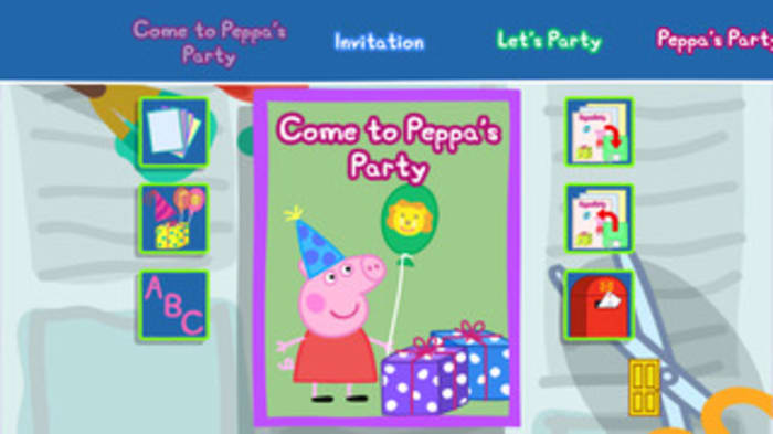 Peppa Pig's Party Time