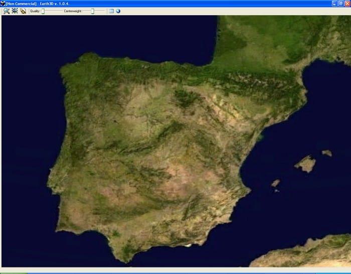 EarthD Download - Earth terrain map