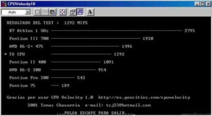 CPU Velocity
