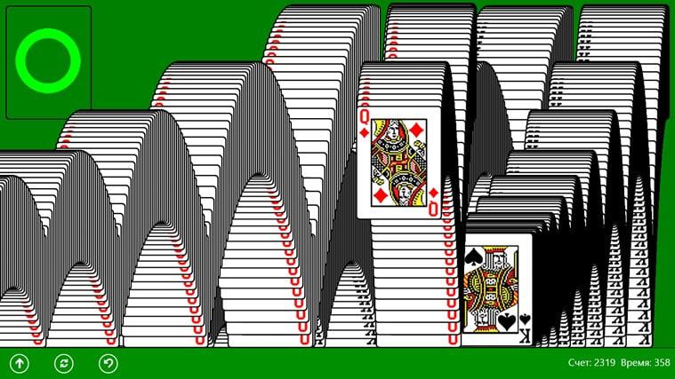 Kostenloses Solitaire Kartenspiel