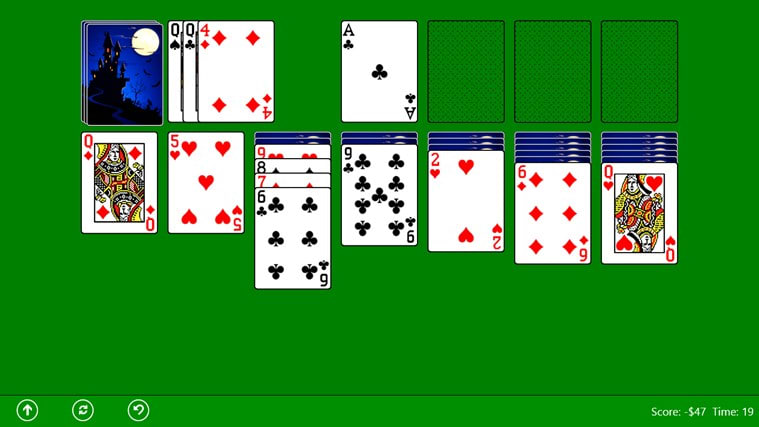 how to turn on solitaire in windows 10