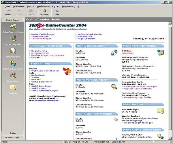 SWR3 OnlineCounter