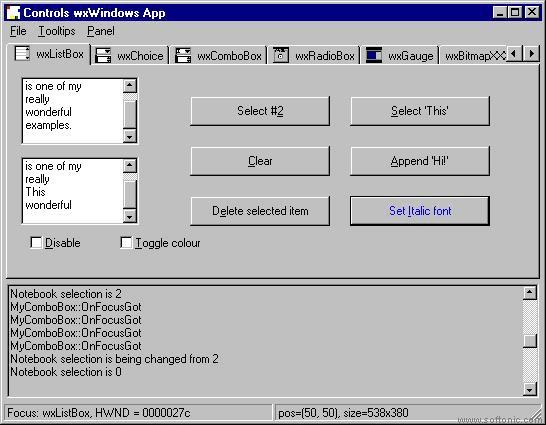 wxWindows