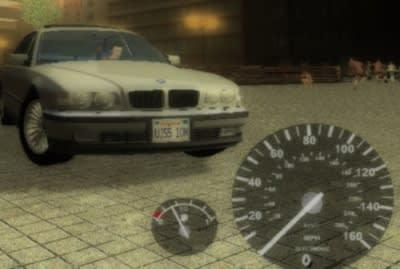 GTA SA Speedometer & Gasoline Mod