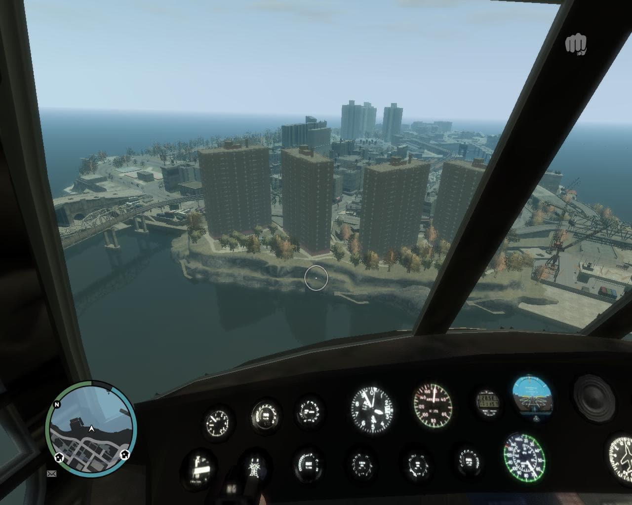 Caméra tableau de bord pour GTA IV