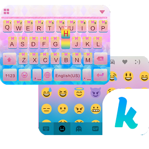 Sweet Glitter Kika Keyboard 1.0