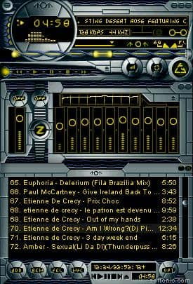 Flying Circle 2000 World edition (WinAmp Skin)