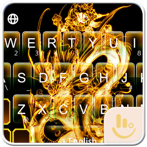 Gold Dragon Keyboard Theme 6.5.12