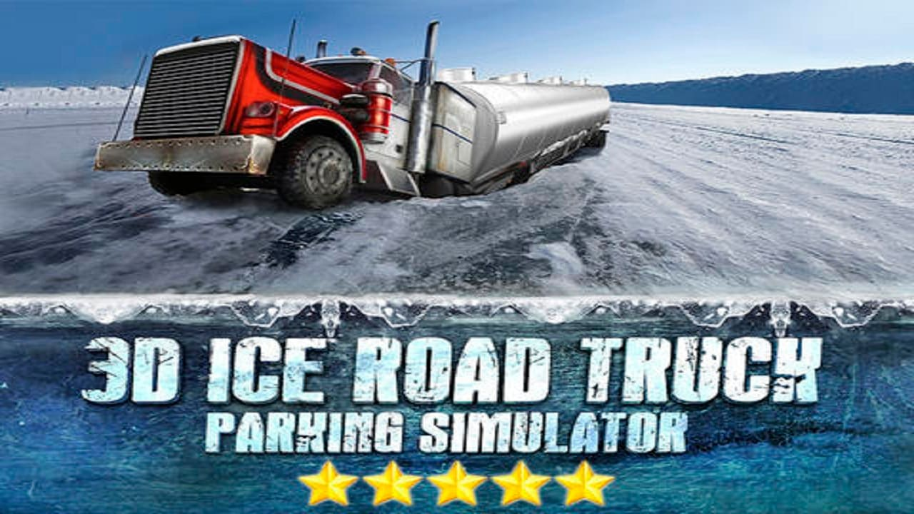3D Ice Road Trucker Parking Simulator