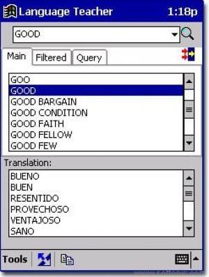 Partner Dictionary English-Spanish