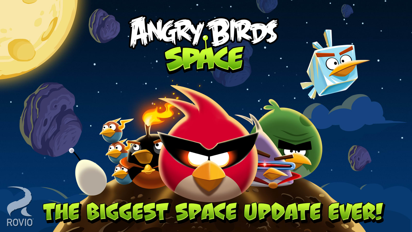 ANGRY BIRDS SPACE - cover