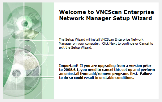 VNC Scan Enterprise Console 2010.2.9.205