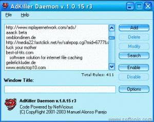 AdKiller Daemon