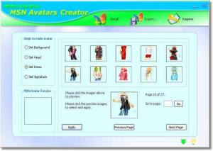 MSN Avatars Creator