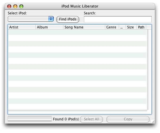 iPod Music Liberator