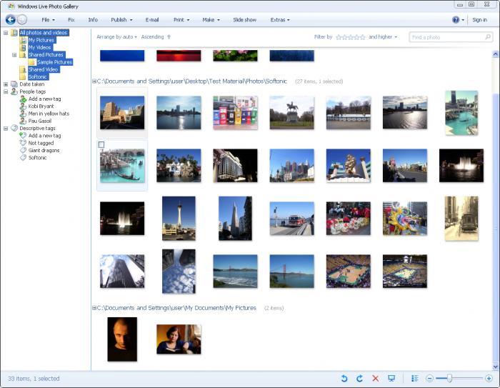 Windows Live Photo Gallery 2012 (Windows) - Download