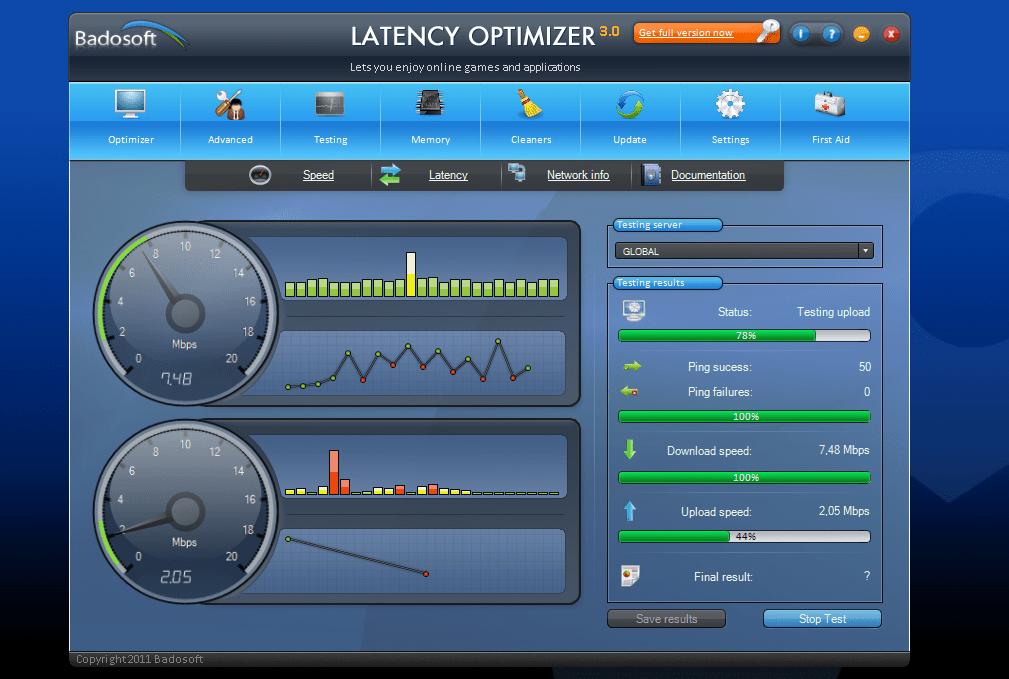 Latency Optimizer Download